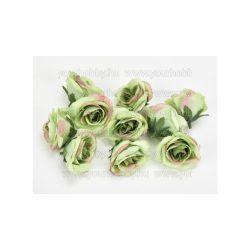 Rózsafej kicsi cirmoszöld 4 cm 10db/cs