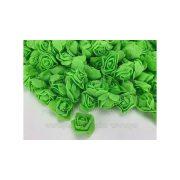 Habrózsa fej almazöld 3 cm 50db/cs