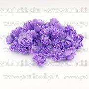 Habrózsa fej lila 3 cm 50db/cs