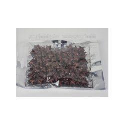 Polisztirol csillag kicsi csillámos 2 cm kb.80db - csoki
