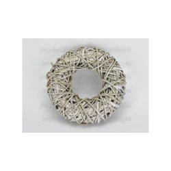 Köteles koszorú fém vázon 27 cm 2329