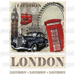 Vasalható Textil Transzfer London A4