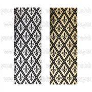 Öntapadó textil jellegű anyag, Francia liliom 10x29 cm 2 db
