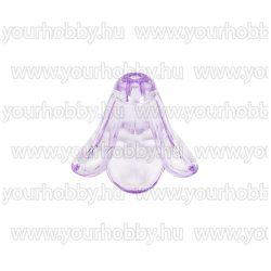 Angyalszoknya 1cm x 1,4cm - átlátszó halványlila