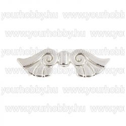 Angyalszárny '2' 2,3cm - ezüst