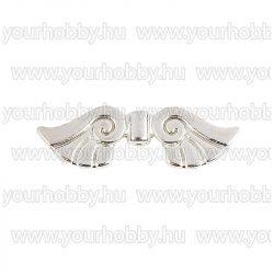 Angyalszárny '2' 3cm - ezüst