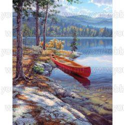Mammut Festés számok után, Csónak 21x30 cm