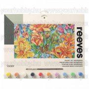 Reeves számozott kifestő - Lepke a virágok közt 40X30 cm