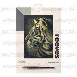 Reeves arany képkarcoló készlet - Tigris 20X25,5 cm