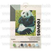 Reeves számozott kifestő - Panda  23X30 cm