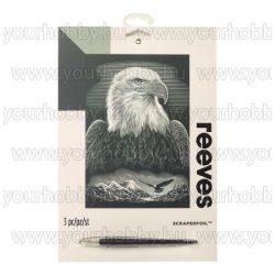 Reeves ezüst képkarcoló készlet - Sas 20X25,5 cm