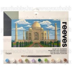 Reeves festés számok után Taj Mahal