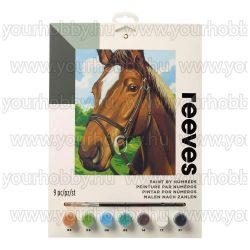 Reeves festés számok után Ló