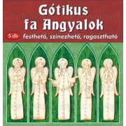 Gótikus angyalok 5 db