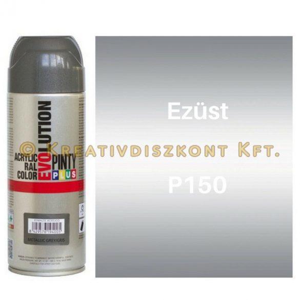 Pintyplus EVOLUTION metál festék spray 200 ml Ezüst