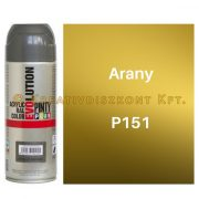 Pintyplus EVOLUTION metál festék spray 200 ml Arany