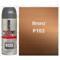 Pintyplus EVOLUTION metál festék spray 200ml bronz