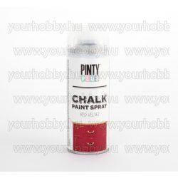 Pintyplus Krétafesték spray 400ml bársony vörös