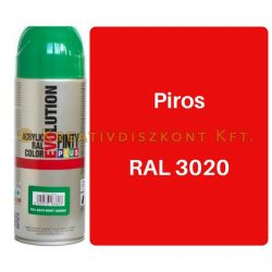 Pintyplus EVOLUTION fényes akril festék spray 200 ml Piros