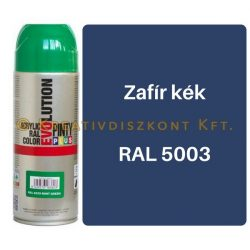 Pintyplus EVOLUTION fényes akril festék spray 200 ml Zafír kék