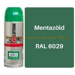 Pintyplus EVOLUTION fényes akril festék spray 200 ml Mentazöld