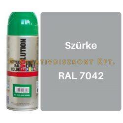 Pintyplus EVOLUTION fényes akril festék spray 200 ml Szürke