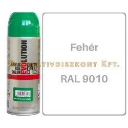 Pintyplus EVOLUTION matt akril festék spray 200 ml Fehér