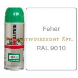 Pintyplus EVOLUTION fényes akril festék spray 200 ml Fehér