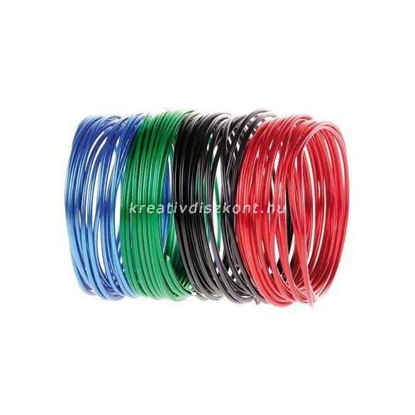 Alumínium drót több színben / 3 m