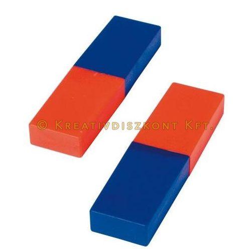 Mágnes tégla, 80 x 22 x 10 mm, 2 db