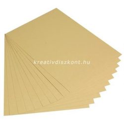 Fotókarton metál 2 színben 50x70 cm - arany