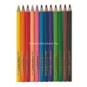 Színes ceruza készlet, 12 db