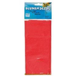 Virágselyem papír több színben / 5 db