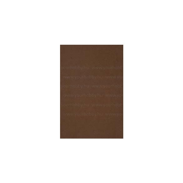 Dekorgumi 29 x 40 cm 13 színben barna