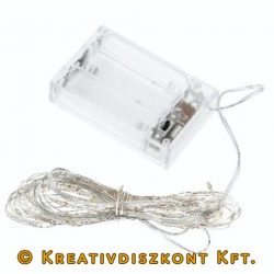 Micro LED égősor, 40 LED izzóval