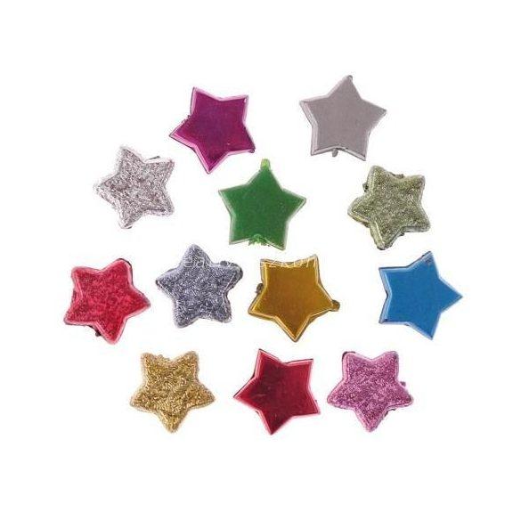 Ékszerkövek, csillagok / 120 db