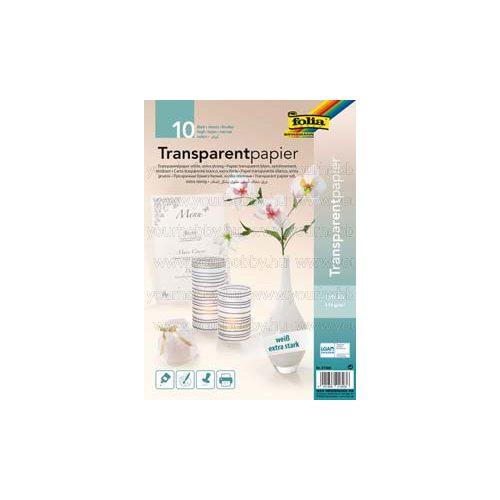 Transzparenspapír, extra erős  / 10 db