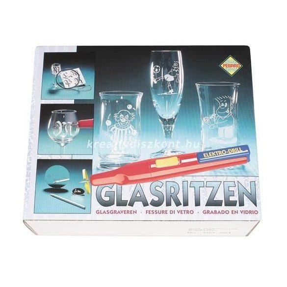 Üveg véső készlet