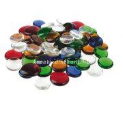 Üvegkavics vegyes színekben / 1 kg
