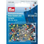 Gombostű üvegfejes 0,6 x 30 mm, 10 g