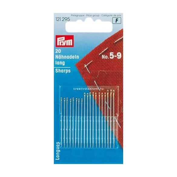 Varrótű készlet, hosszú ( 5 - 9 méret), 20 db