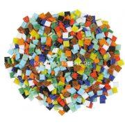 Üvegmozaik lapok színes / 500 g