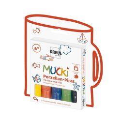 Porcelánfestő toll készlet Mucki 5db-os