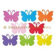 Dekorgumi pillangók, 8 db