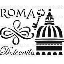 Stencil, Róma  KSD122