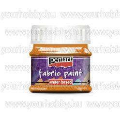 Pentart Textilfesték 50 ml - Narancs
