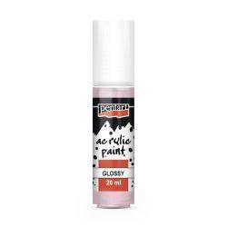 Pentart Fényes akrilfesték 20 ml - Rózsaszín