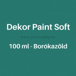Pentart Dekor Paint Soft lágy dekorfesték 100 ml - borókazöld