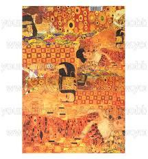 Dekupázs rizspapír, Klimt  DFS080