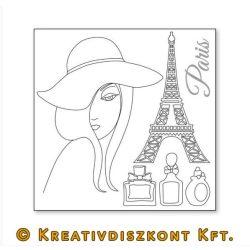 Sziluett papír, Párizs  DFTM05